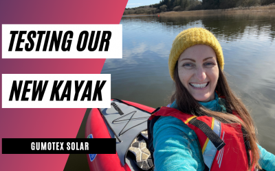 A new challenge for 2021: Kayaking on Scotland's lochs